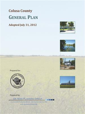 Colusa County General Plan Cover